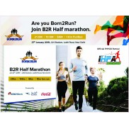 IHFA Physio Partner at Born2Run B2R Half Marathon New Delhi